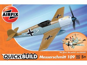 Airfix QUICK BUILD Messerschmitt (Desert)