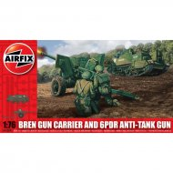 Bren Gun Carrier and 6pdr Anti-Tank Gun 1:76 - A01309