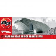 Narrow Road Bridge Broken Span 1:72