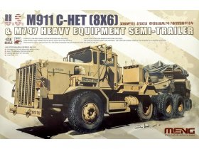 U.S. M911 C-HET (8*6) and M747 Heavy Equipment Semi-Trailer