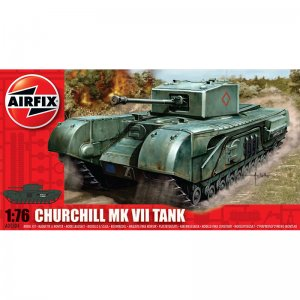 Churchill MkVII Tank 1:76 - A01304