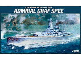 Линкор Admiral Graf Spee German Pocket Battleship