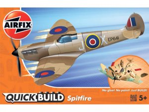Airfix QUICK BUILD Spitfire (Desert)